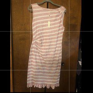 NWT Max Studio printed/striped dress